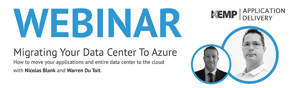 Migrating your Datacenter to Azure